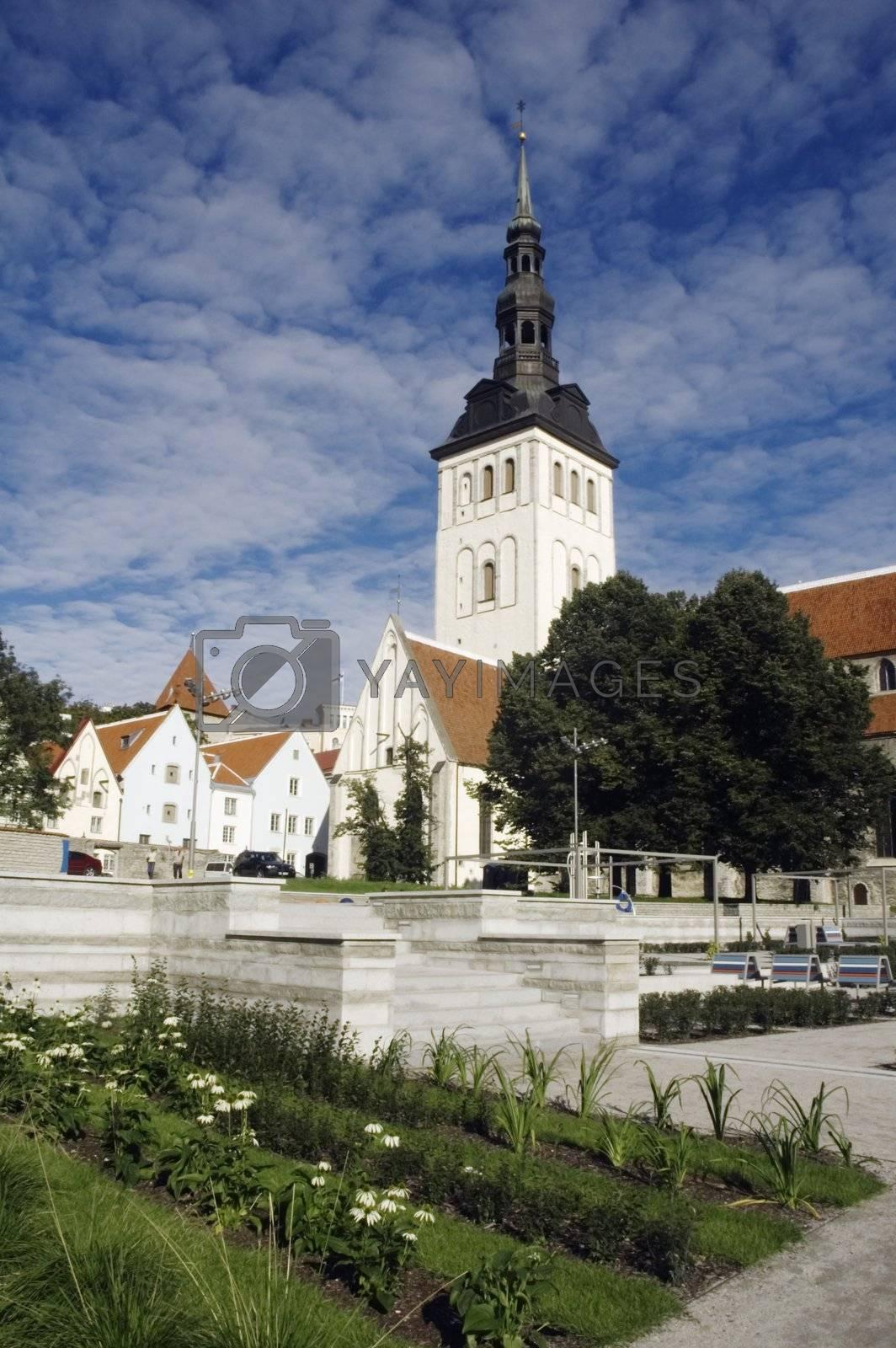 Tallinn. Estonia. Church Niguliste.