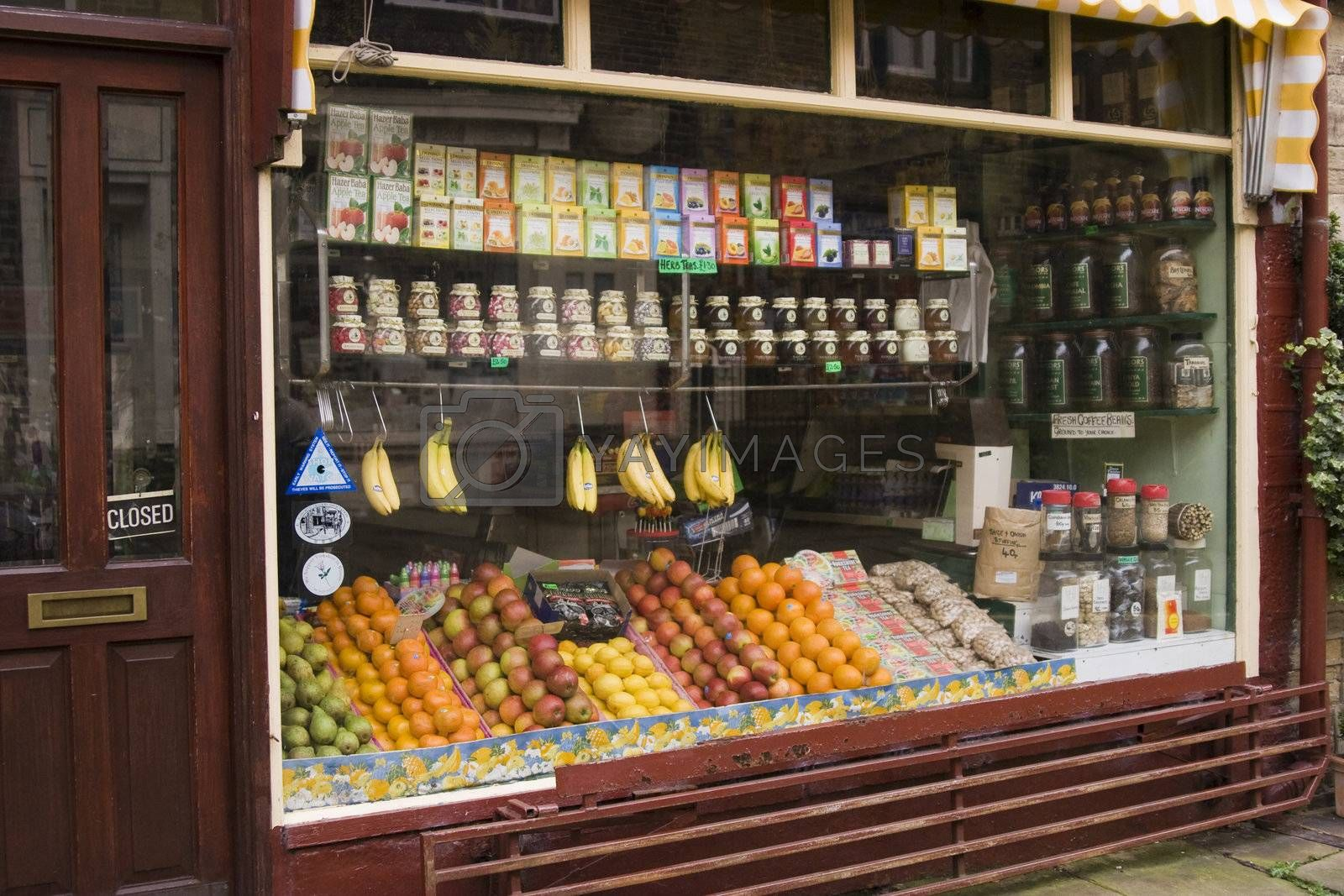 Old fashioned grocery shop