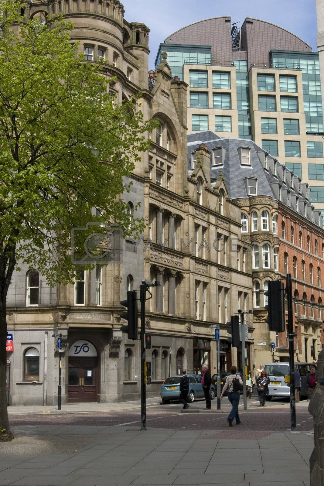 Manchester city centre by cvail73