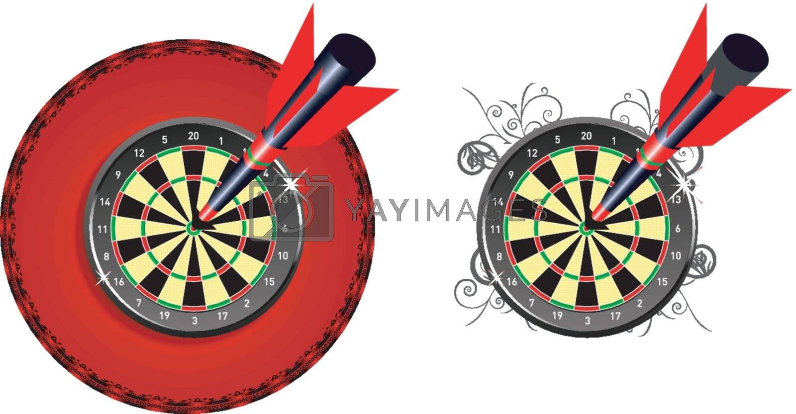 Darts as a concept to achieve the goal