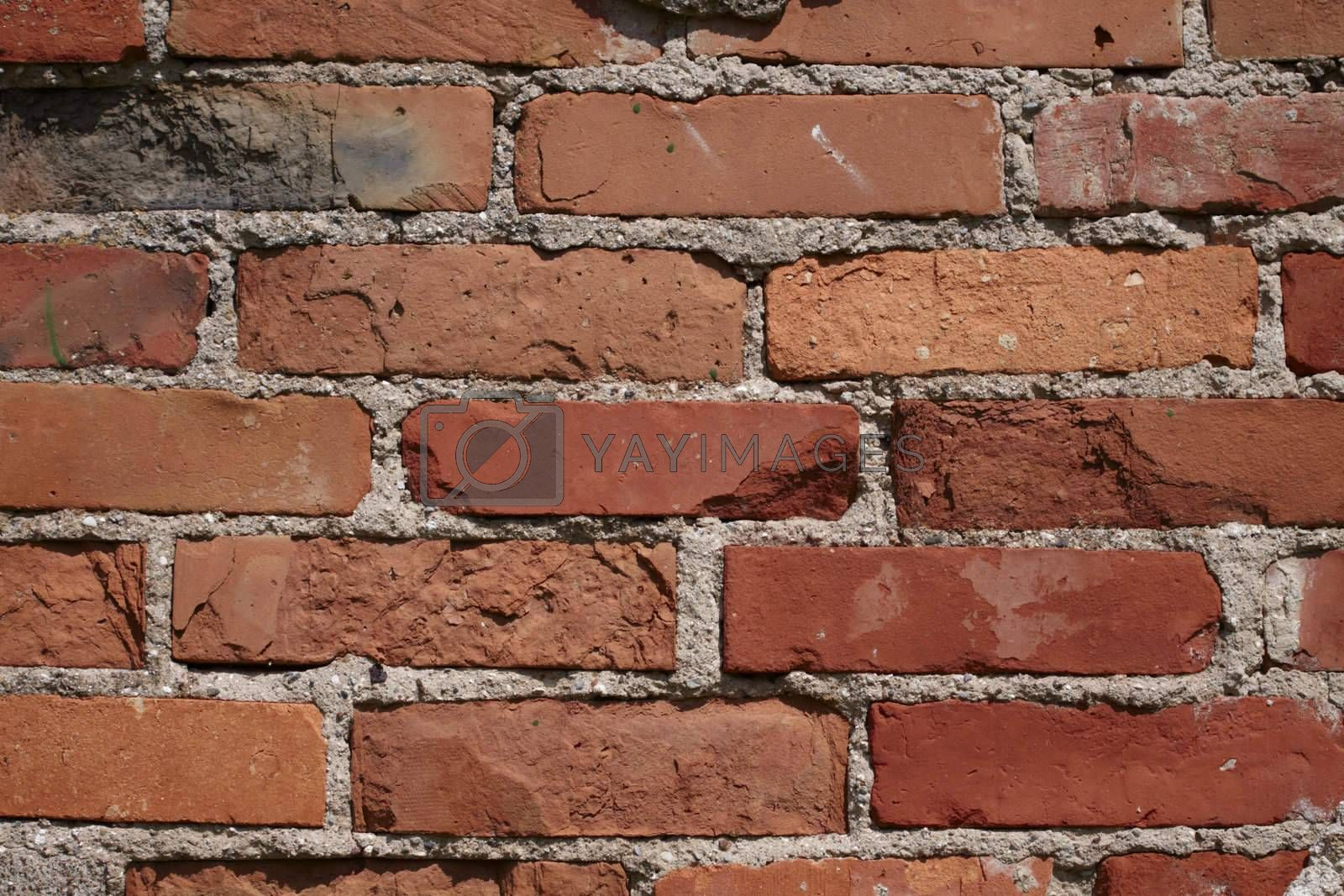 Background in the form of brickwork