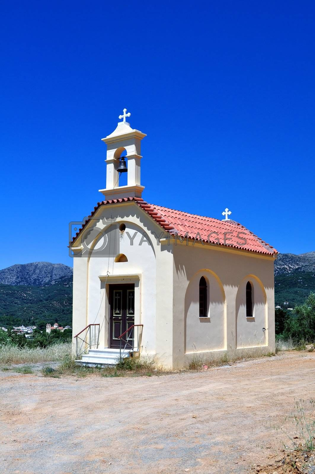 Royalty free image of Greek chapel by FER737NG