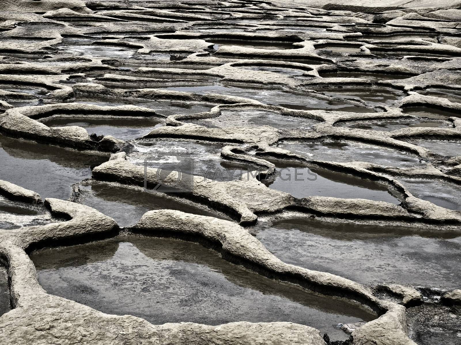 Royalty free image of Saltpans by PhotoWorks