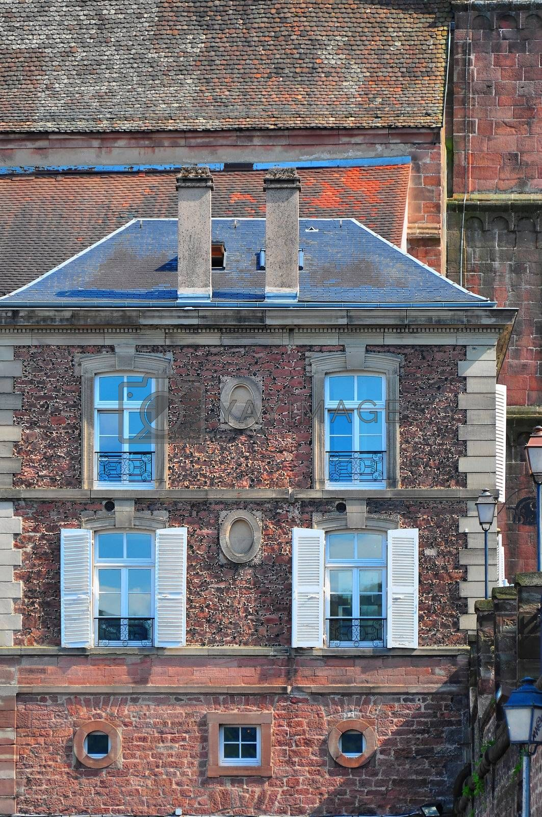 Royalty free image of Saverne view by mpgphoto