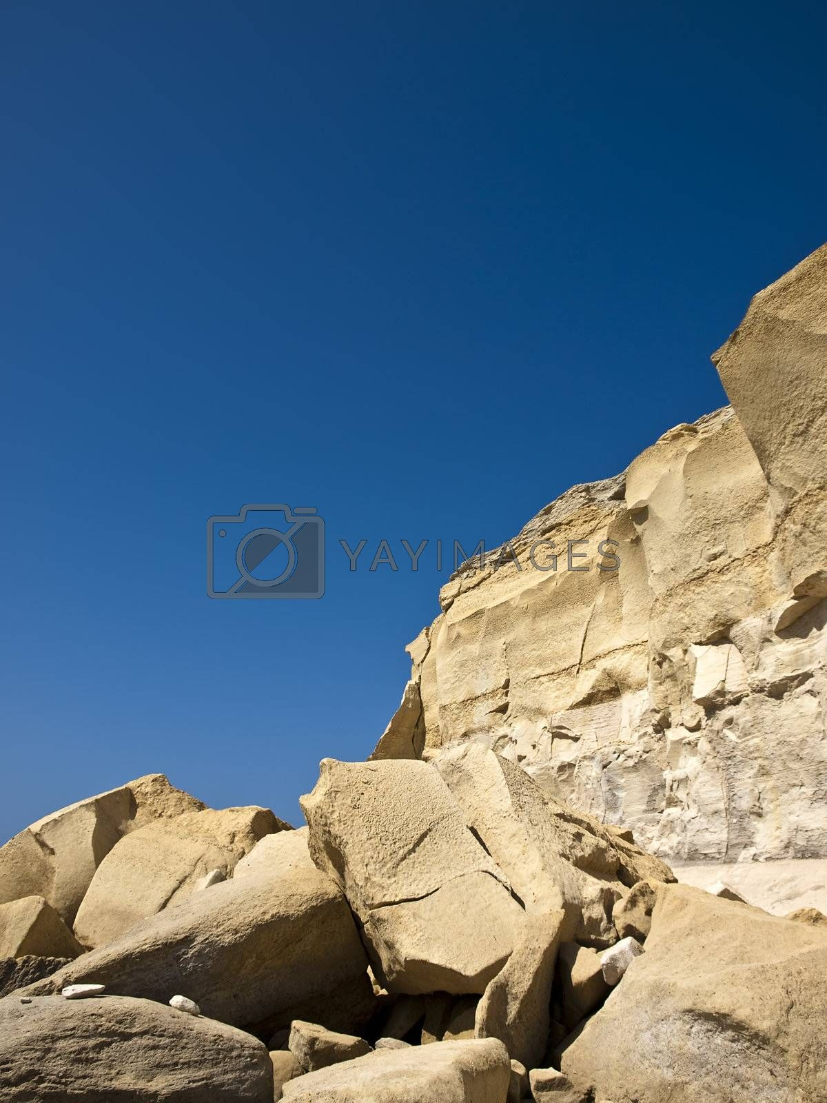 Royalty free image of Sandstone Erosion by PhotoWorks