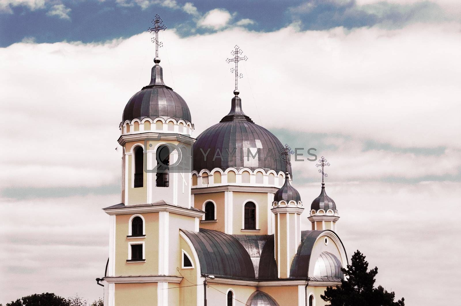 Royalty free image of Orthodox christian church by Angel_a