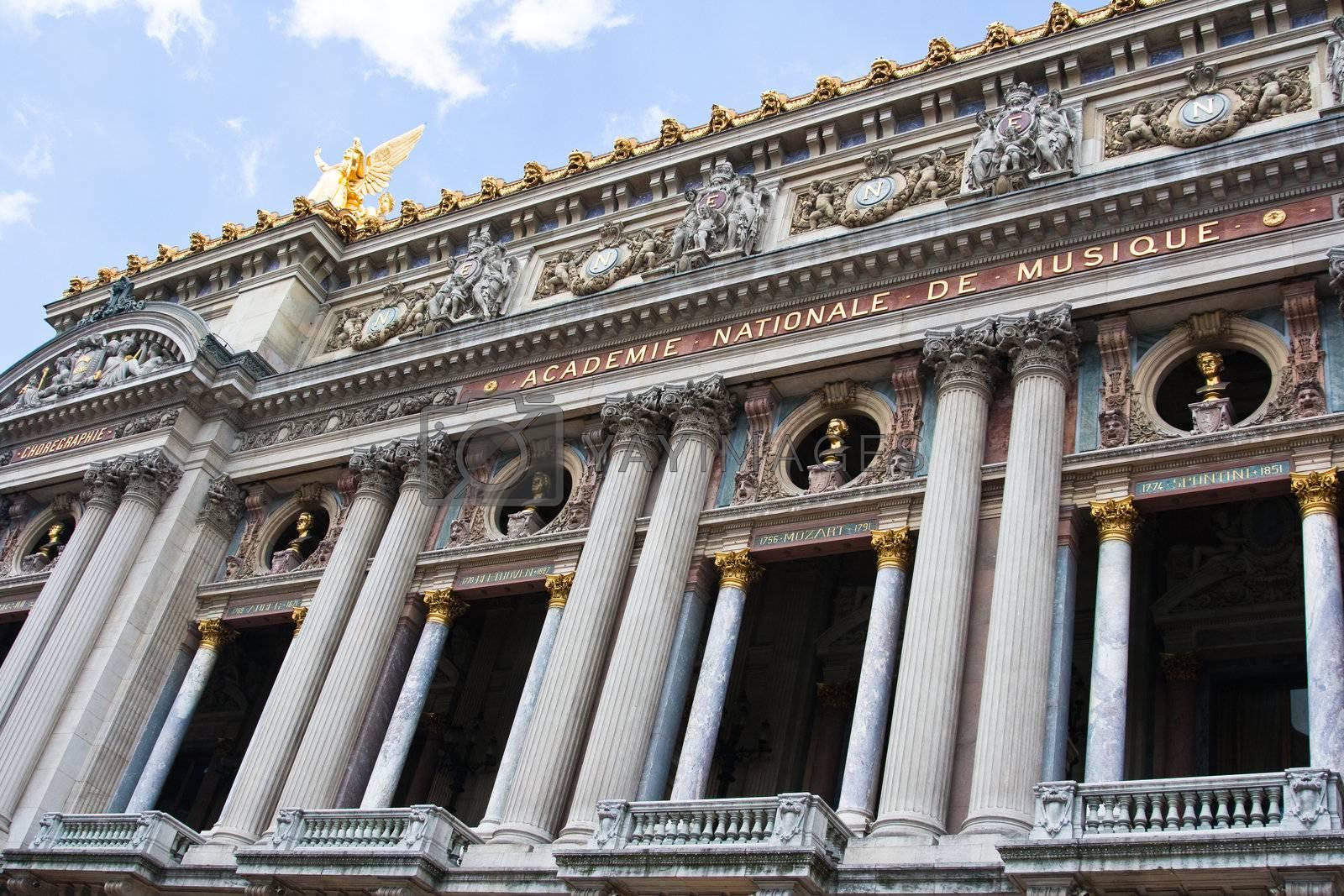 Royalty free image of Beautiful Paris Opera by corot2
