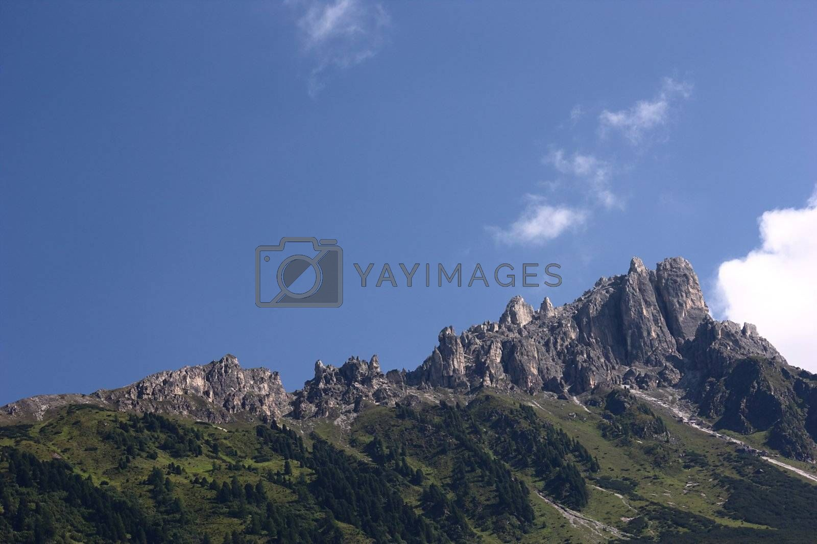 Royalty free image of Mountains by cflux