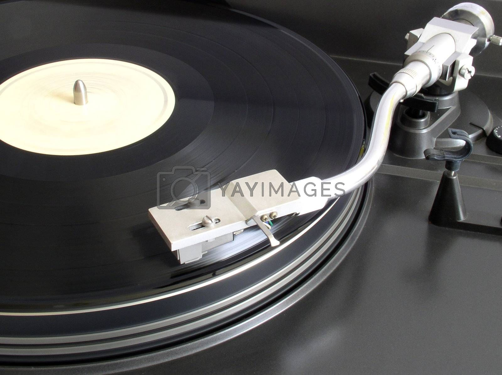 Royalty free image of Turntable by kapp