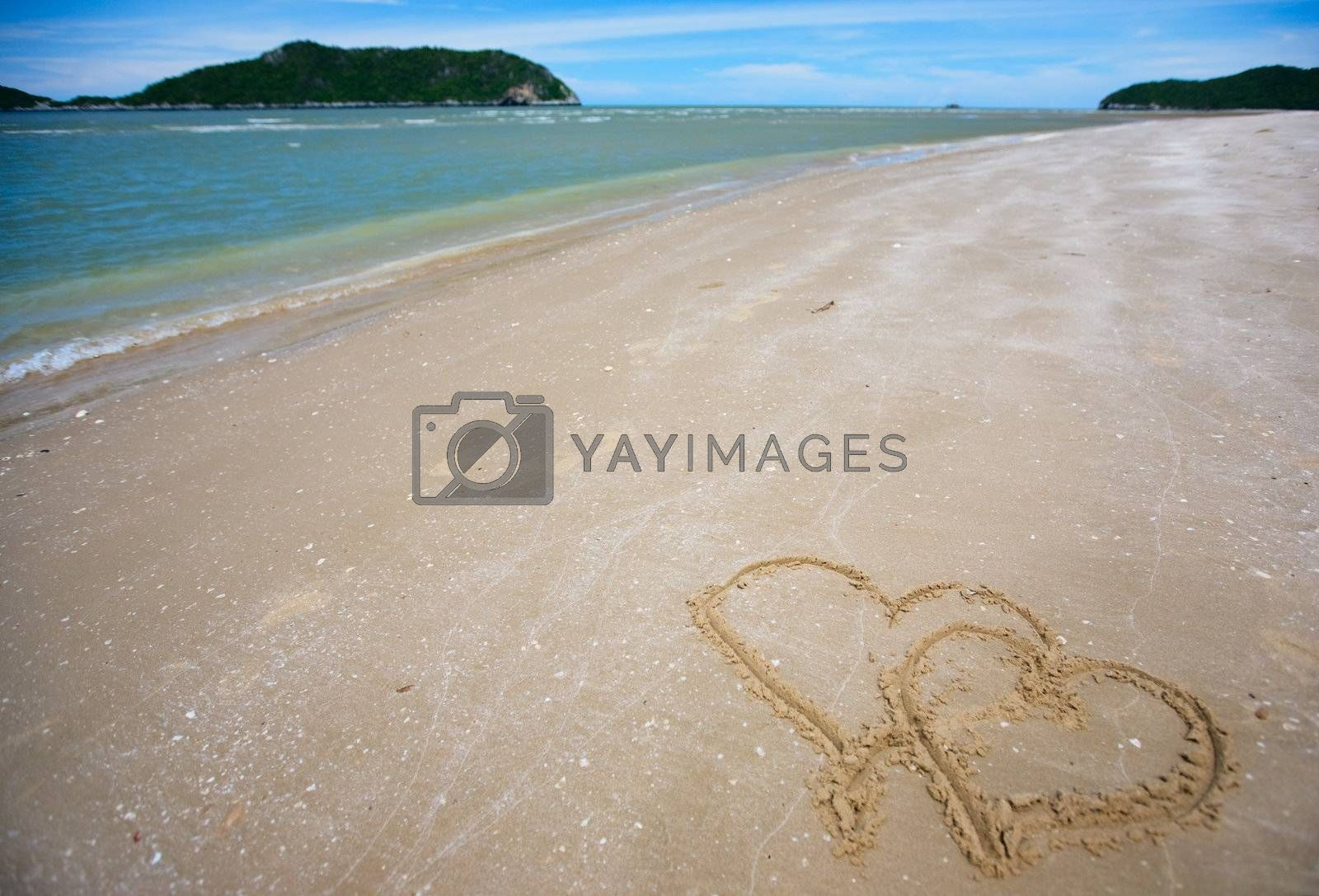 Royalty free image of Tropical dream beach by shalamov