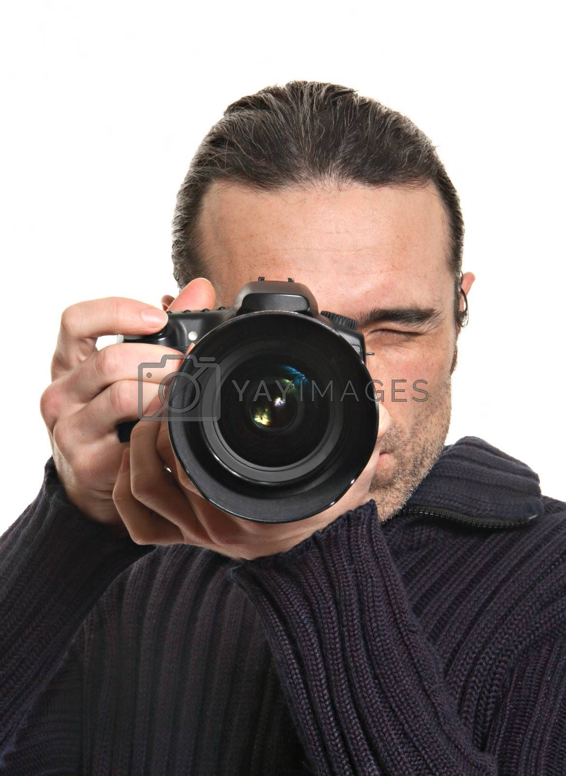 Royalty free image of  photographer by Gravicapa