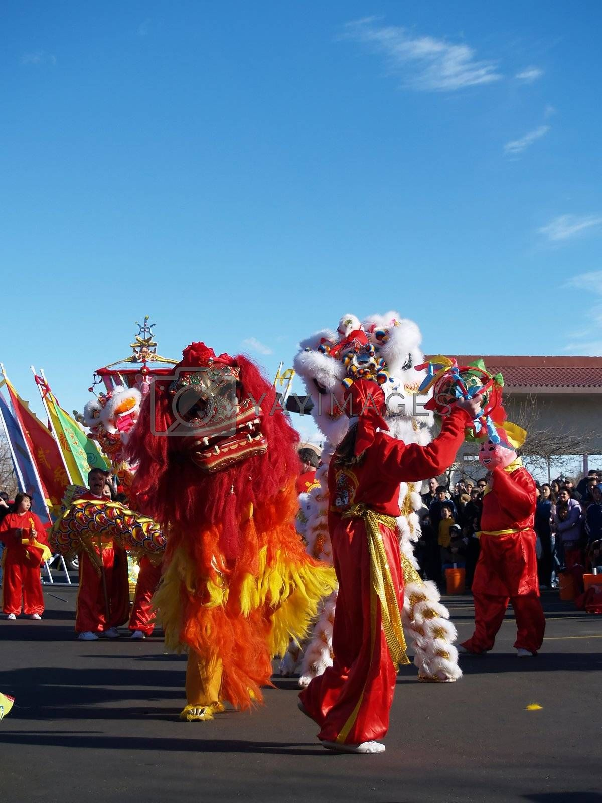 Celebration of Chinese New Years.