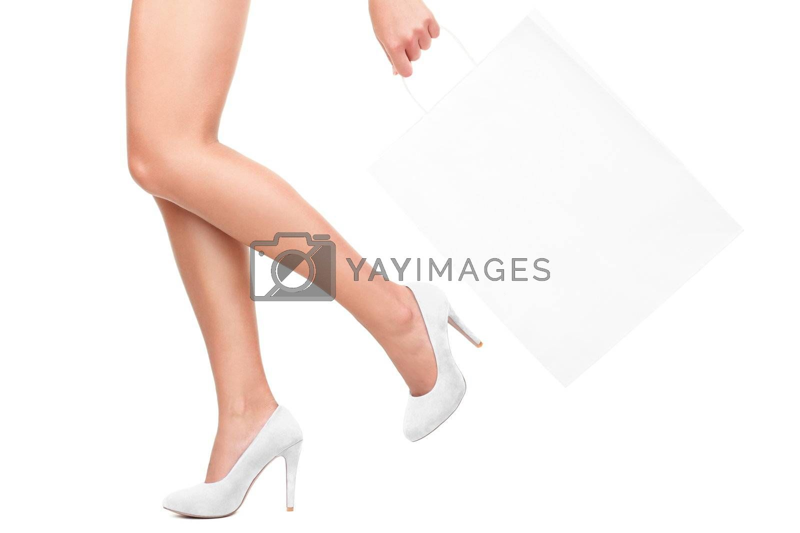 Shopping in white by Ariwasabi