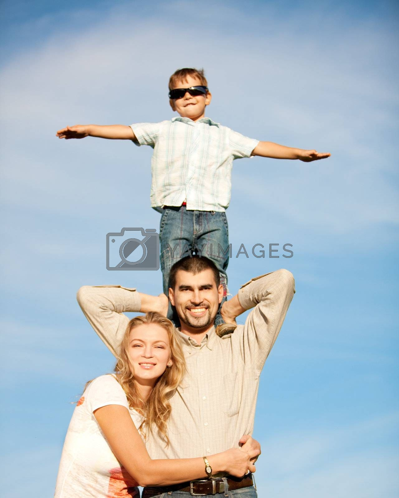 Happy family by mihhailov