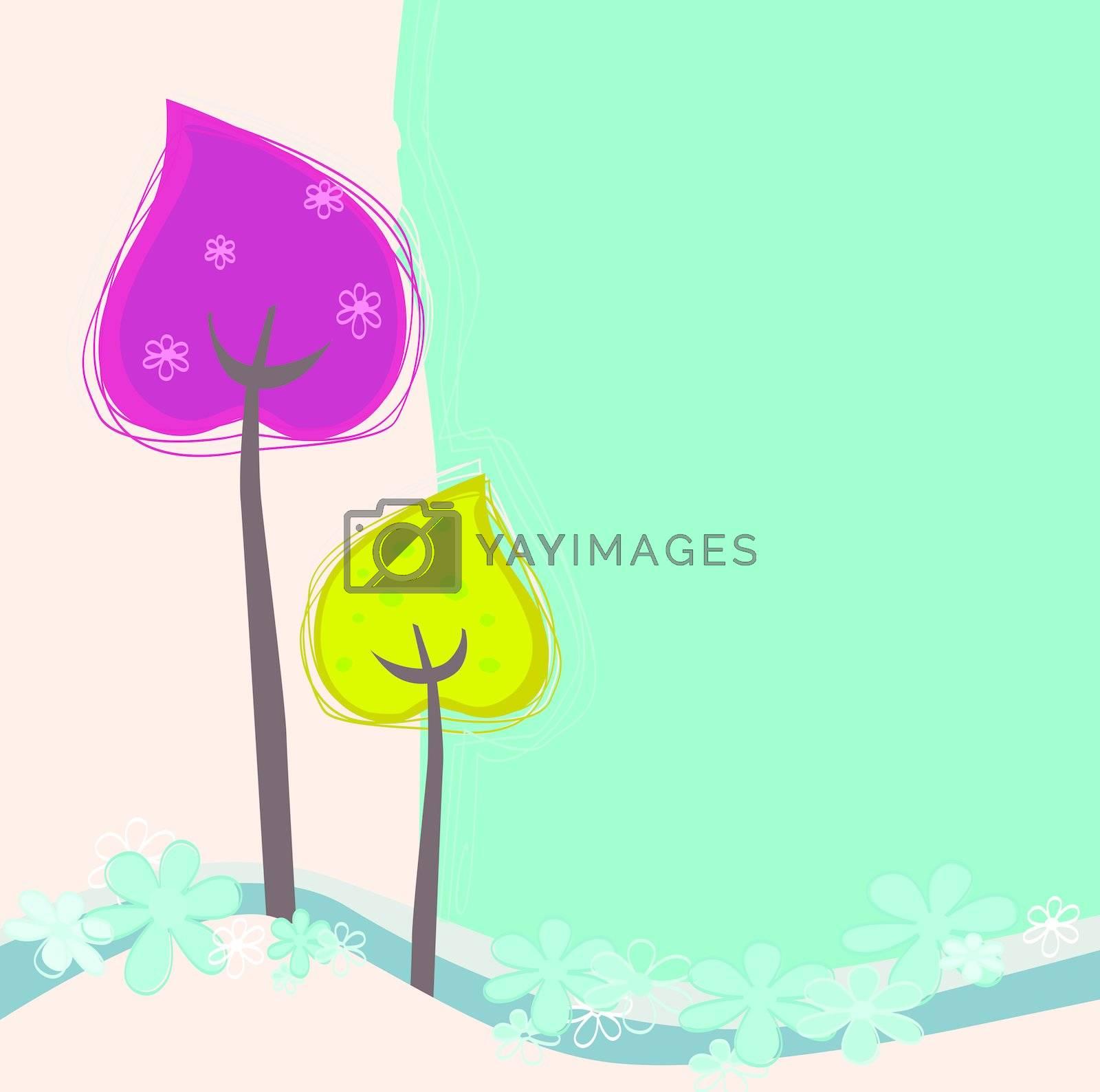 Retro background natural design with copyspace. See similar images in my portoflio!