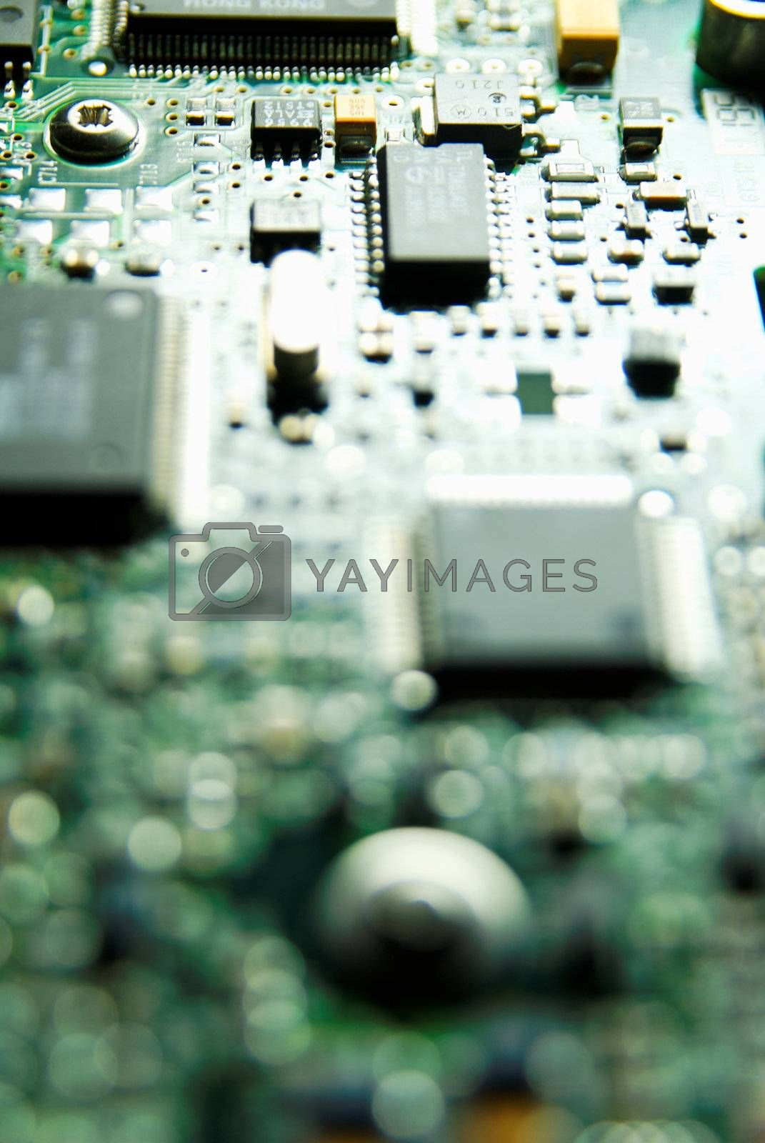 Electronics Industry, Component, Silicon, Macro,