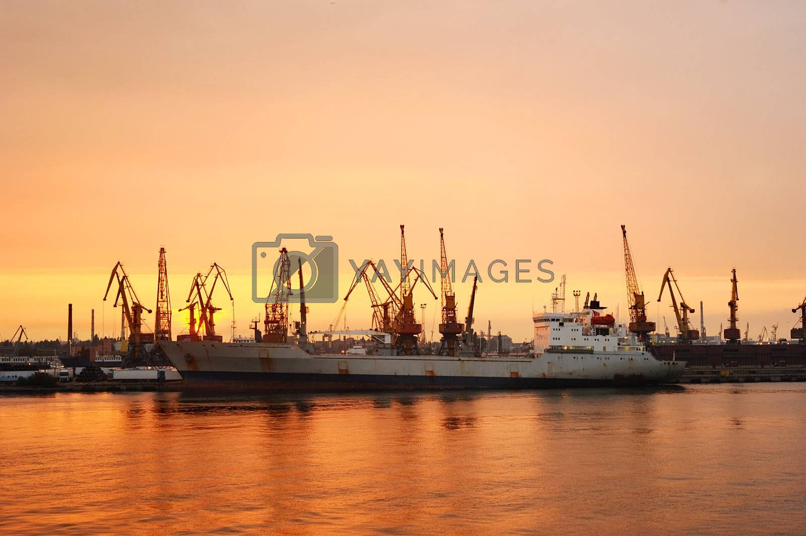The Port of Odessa is the largest Ukrainian seaport and one of the largest ports in the Black Sea basin