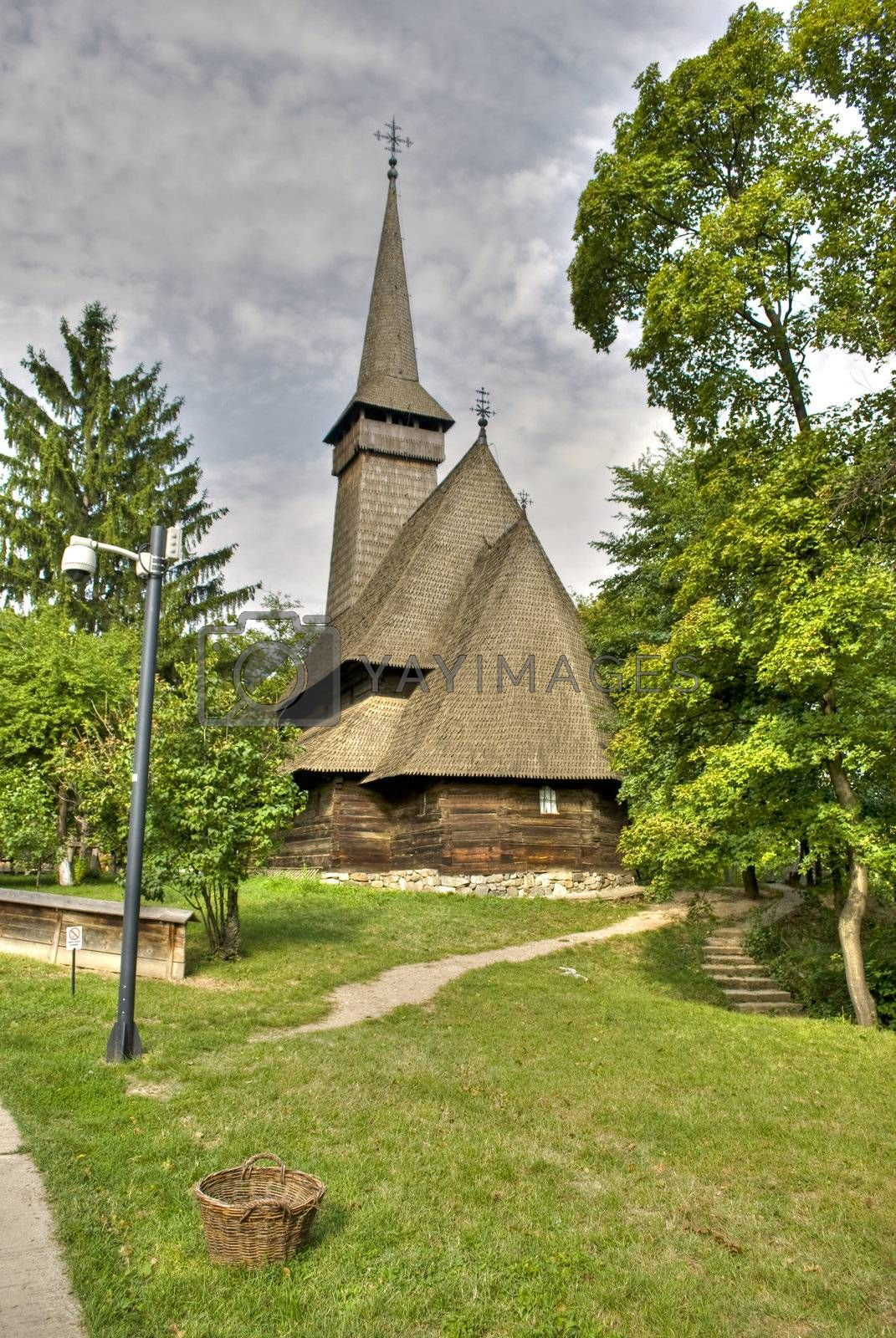 Royalty free image of wooden church by Dessie_bg
