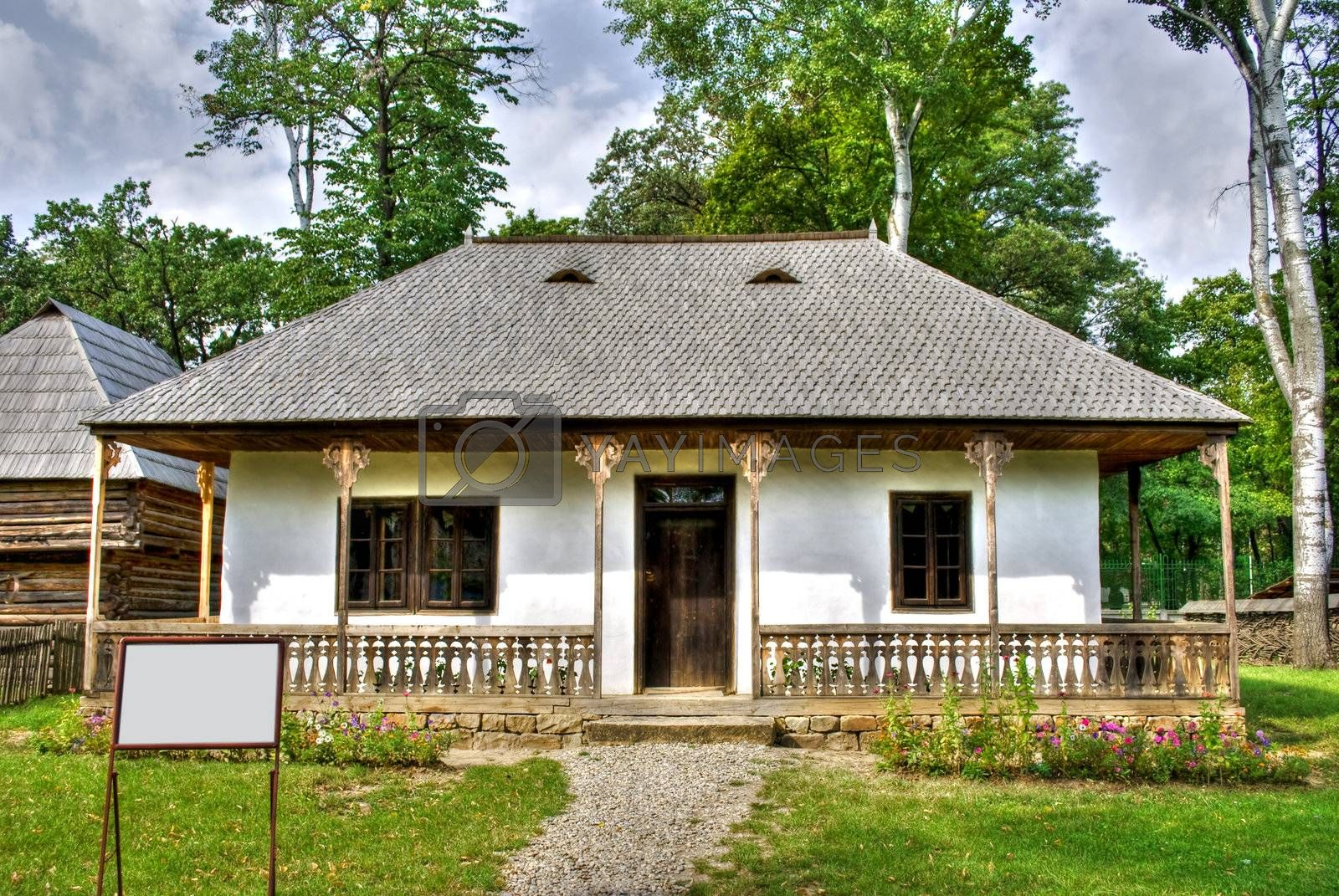 Royalty free image of wooden house by Dessie_bg