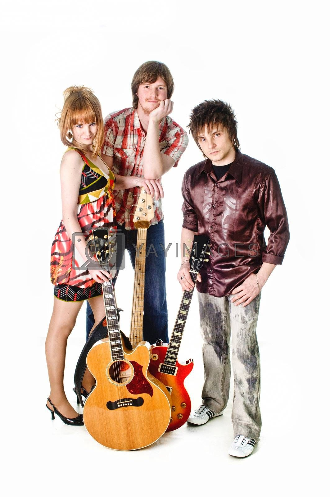 Royalty free image of Music rock-band by shivanetua