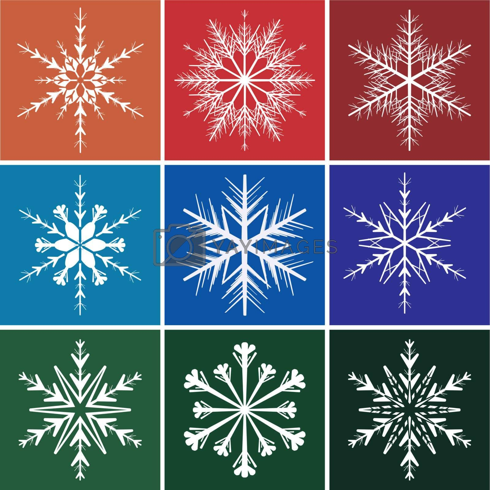 Royalty free image of Snowflakes by ard1