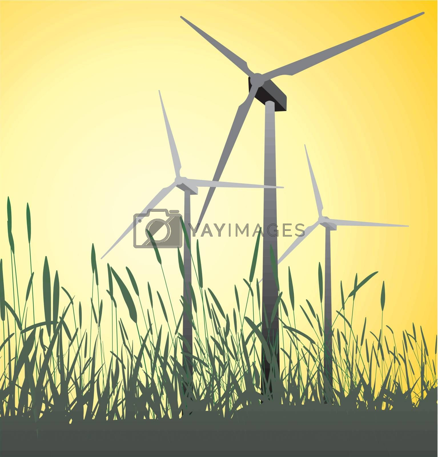 Royalty free image of Wind Turbine by ard1