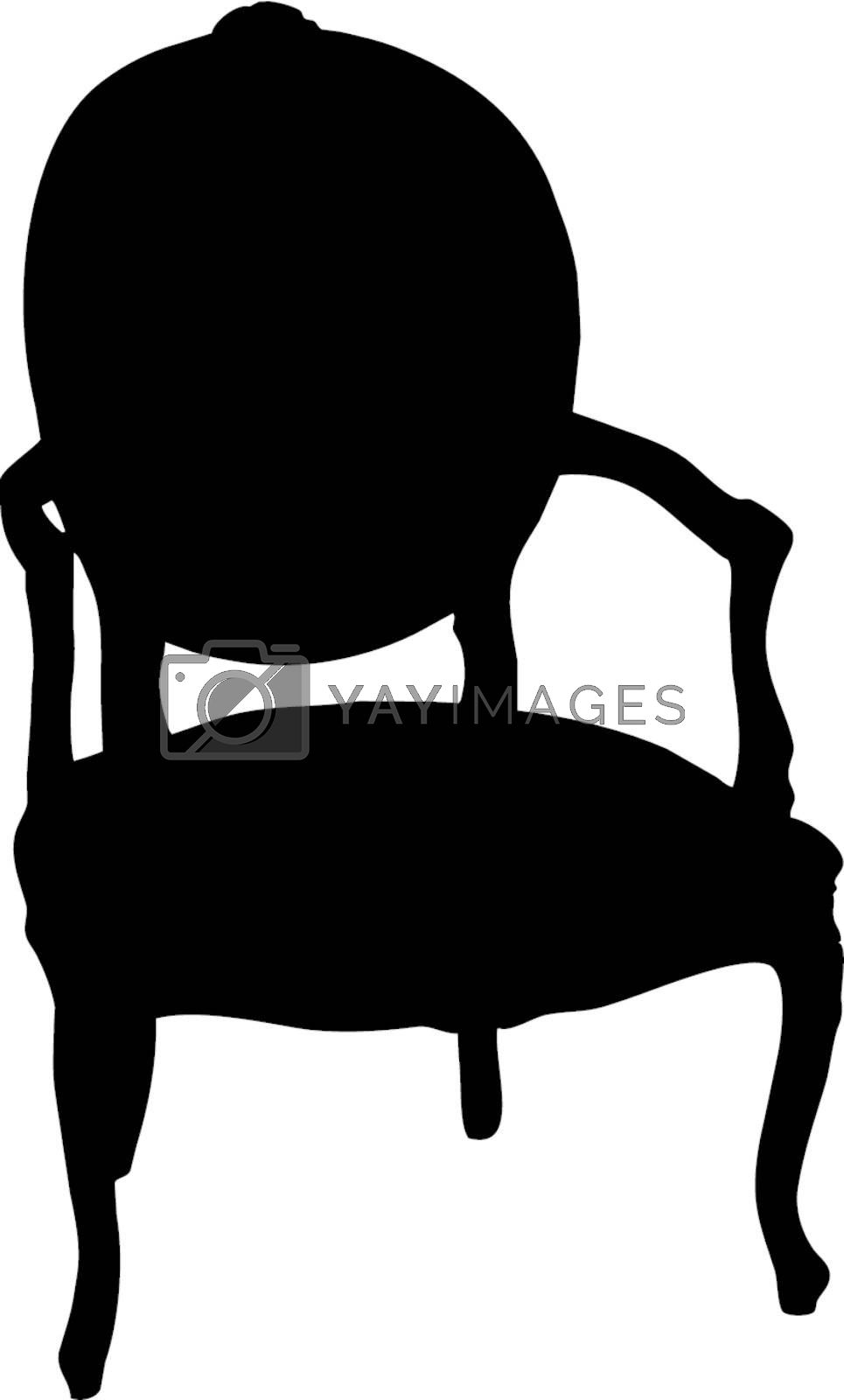 Royalty free image of Retro armchair by sattva