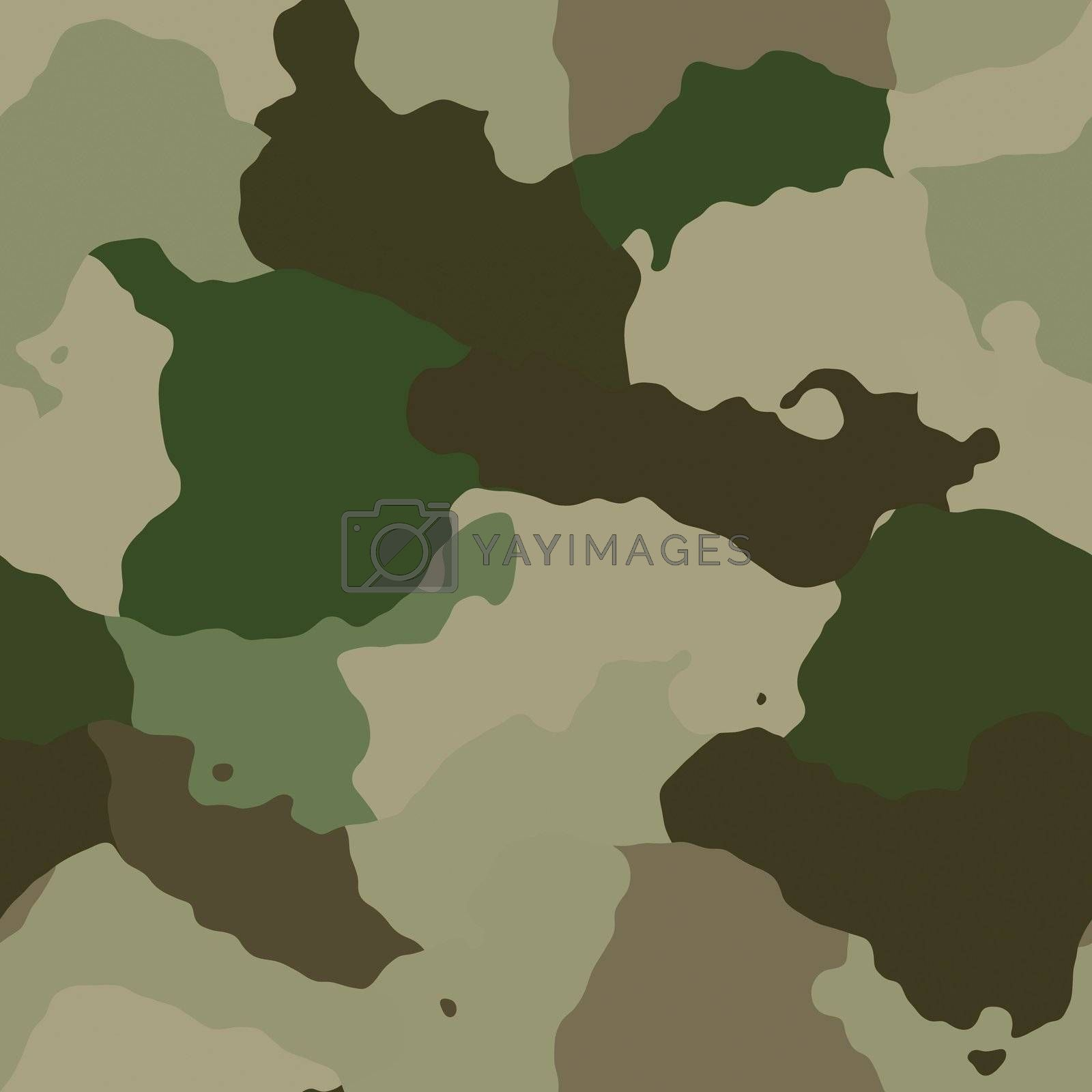 Royalty free image of Camouflage pattern by kgtoh