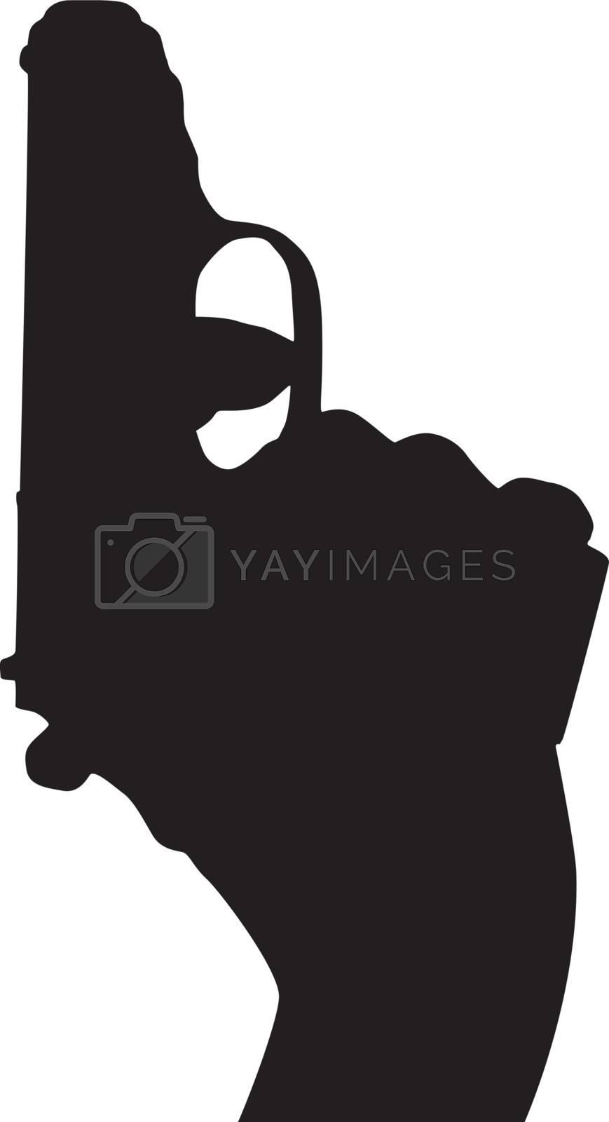 Royalty free image of Gun by sattva