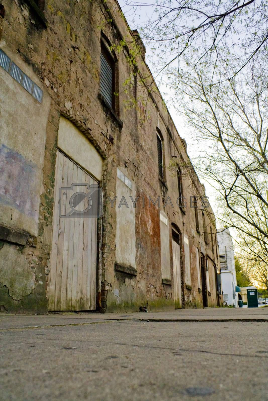 Royalty free image of Abandoned Building by joshpappas