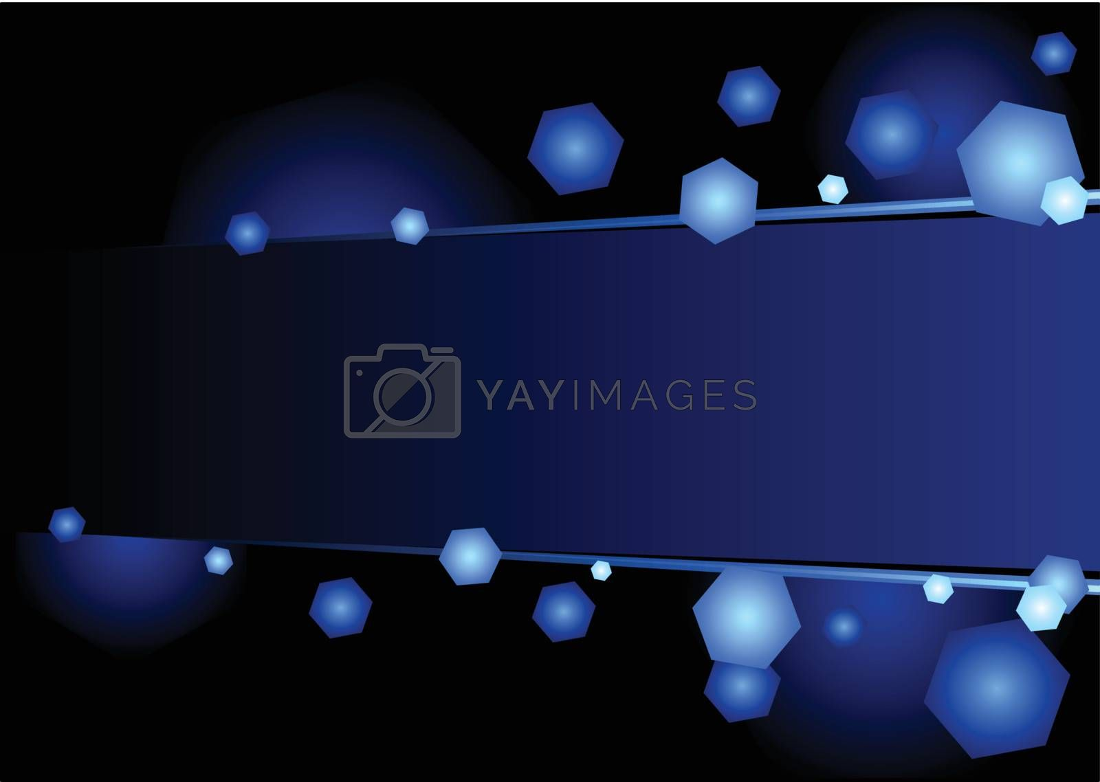 Royalty free image of Blue light by oxygen64