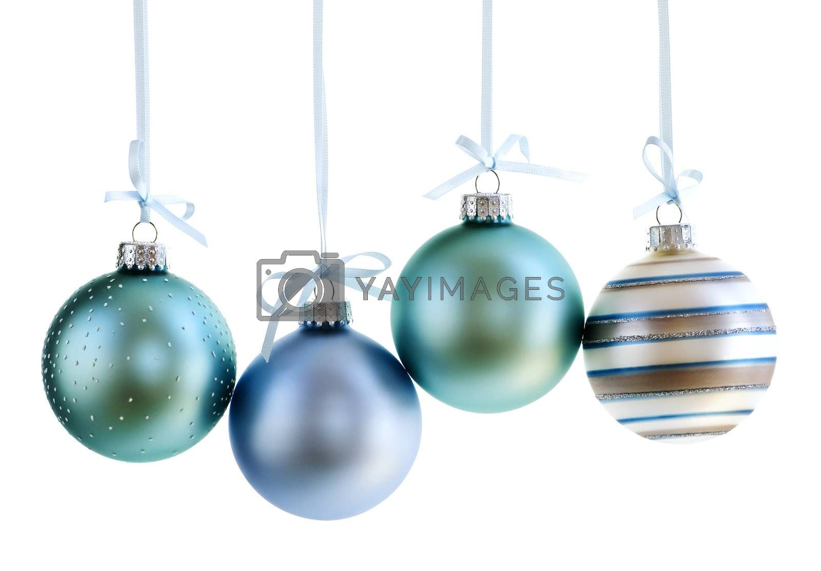 Royalty free image of Christmas ornaments by elenathewise