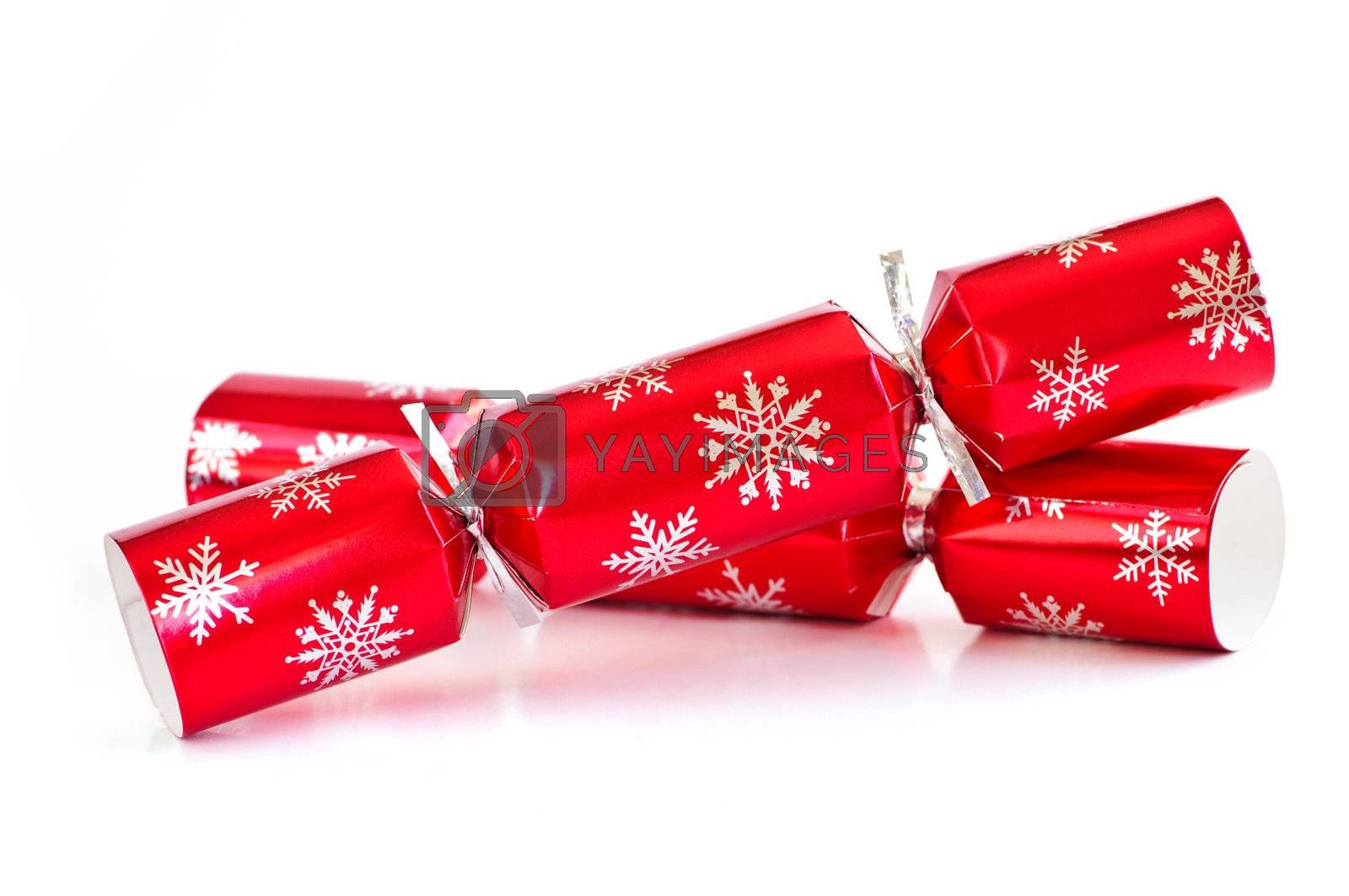 Royalty free image of Christmas crackers by elenathewise