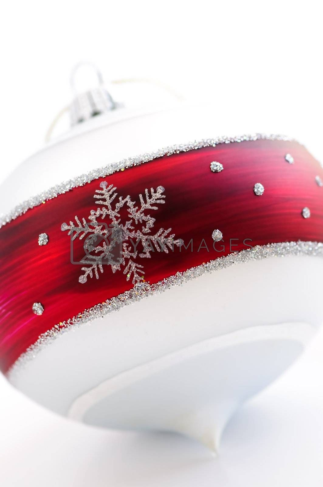 Royalty free image of Christmas ornament by elenathewise