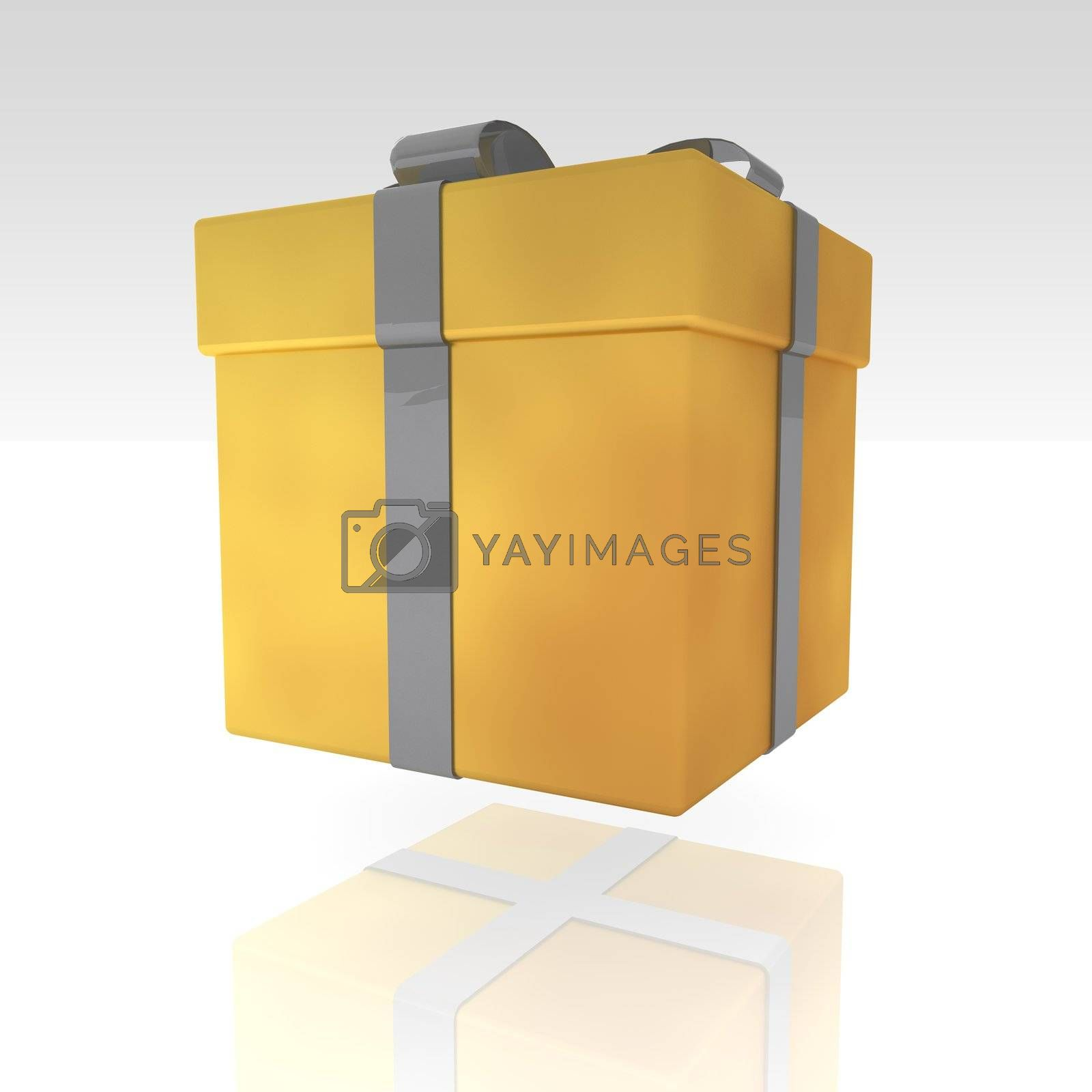 Royalty free image of Fancy present illustration by kgtoh