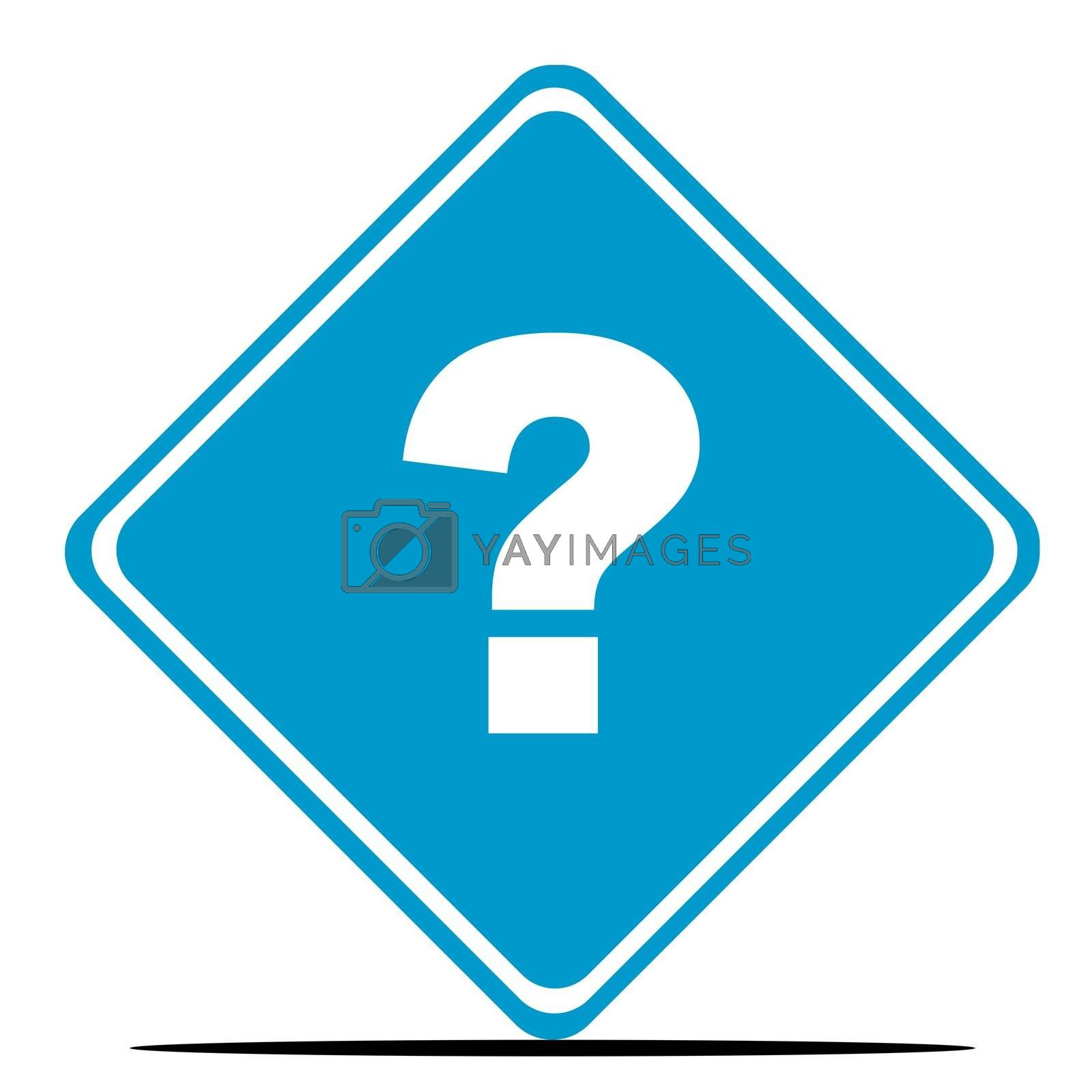 Royalty free image of Question mark sign by speedfighter