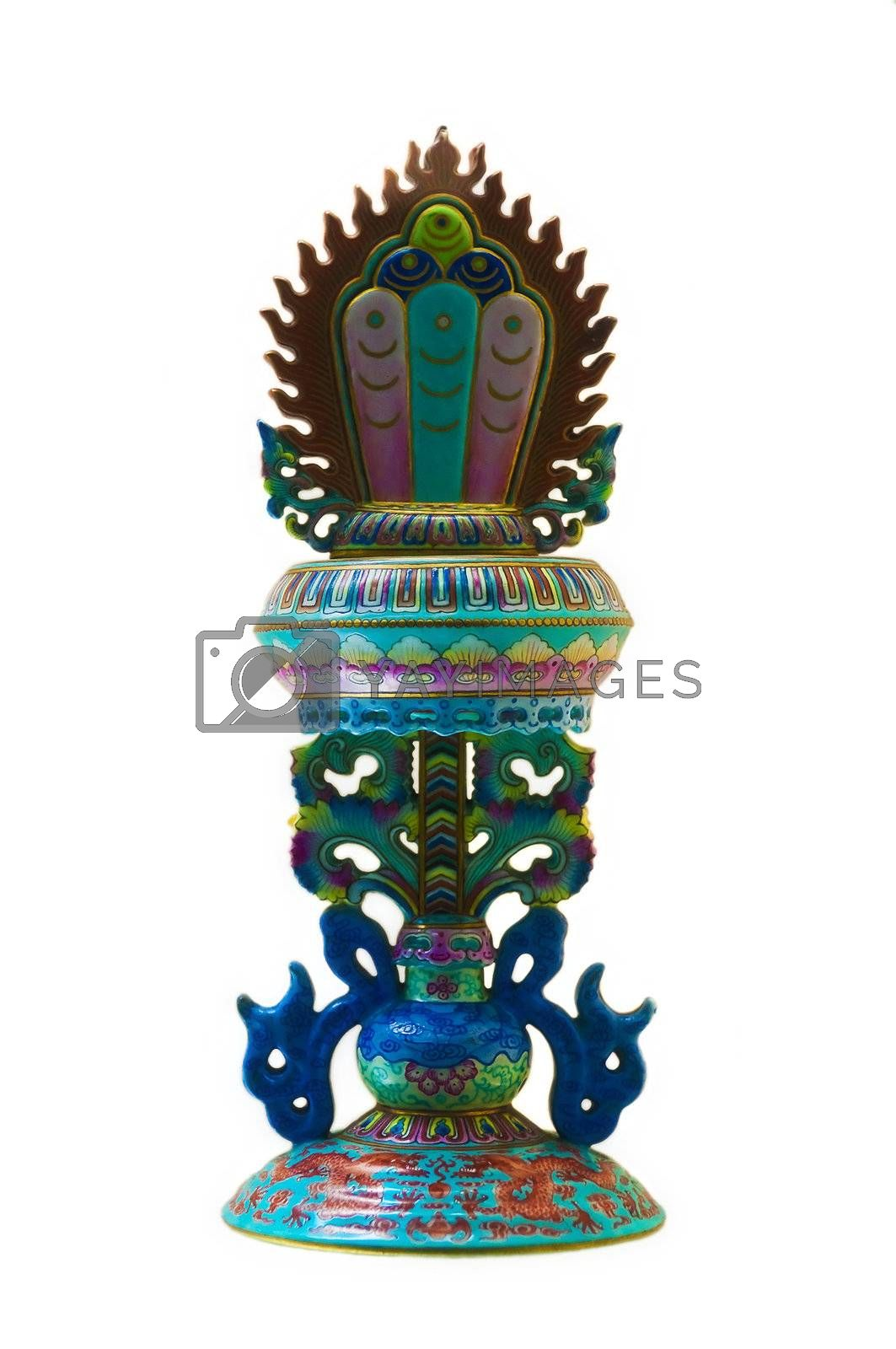 Royalty free image of Ancient Ceramic Sculpture by tonyoquias