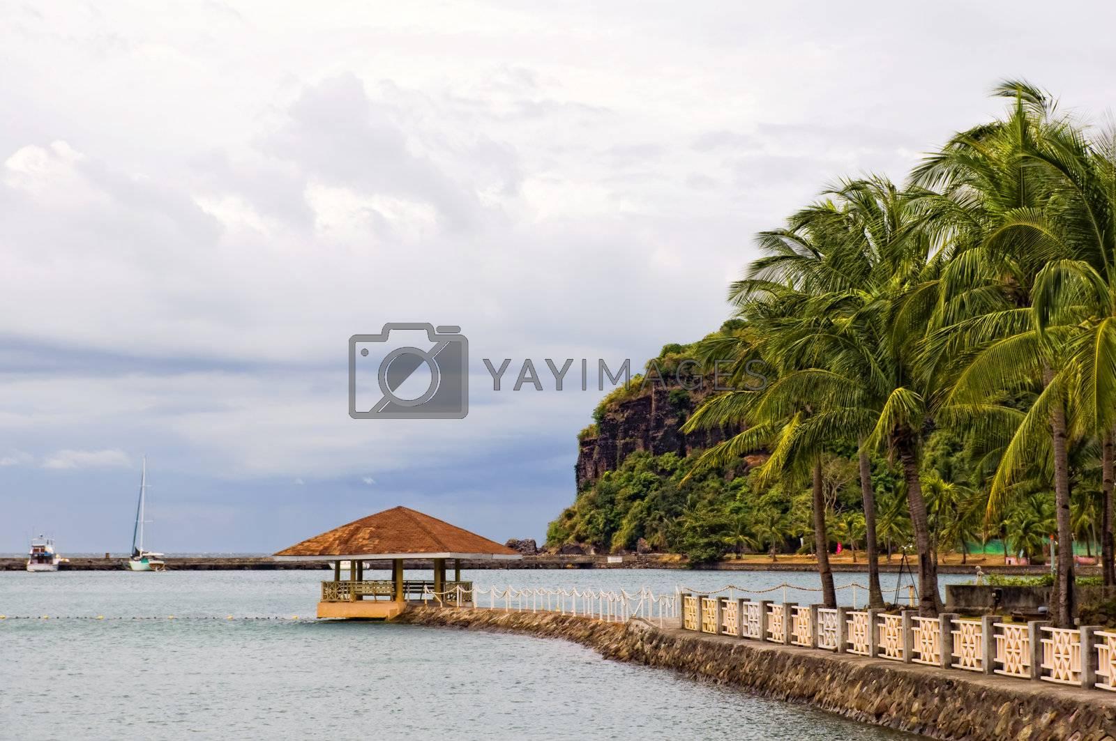 Royalty free image of Resort by tonyoquias