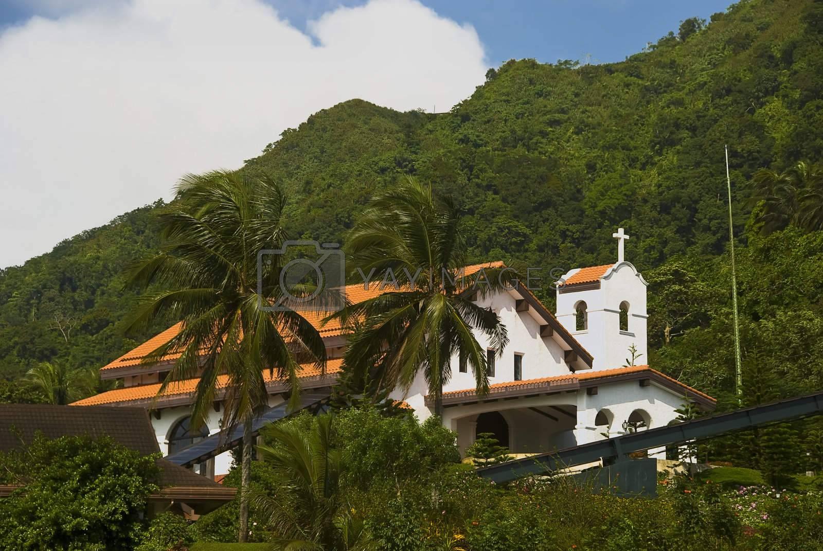 Royalty free image of Church by tonyoquias
