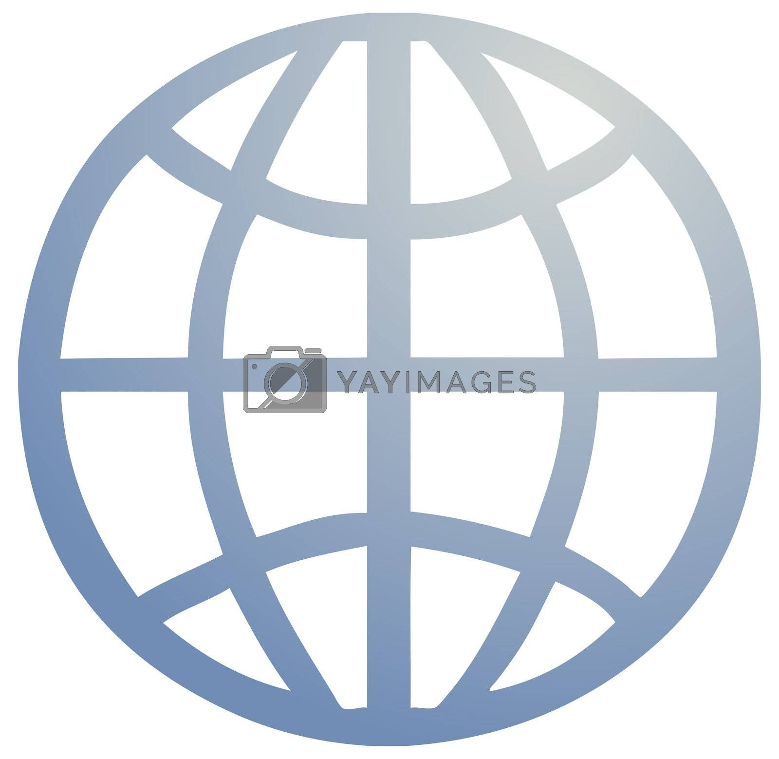 Royalty free image of Global symbol by kgtoh