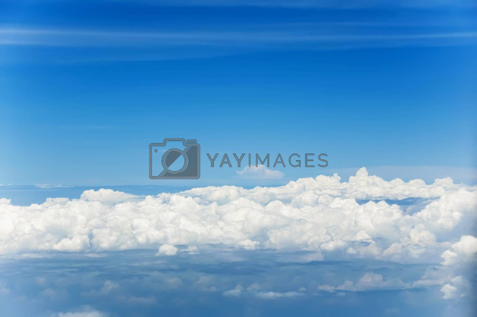 Royalty free image of Clouds by tonyoquias