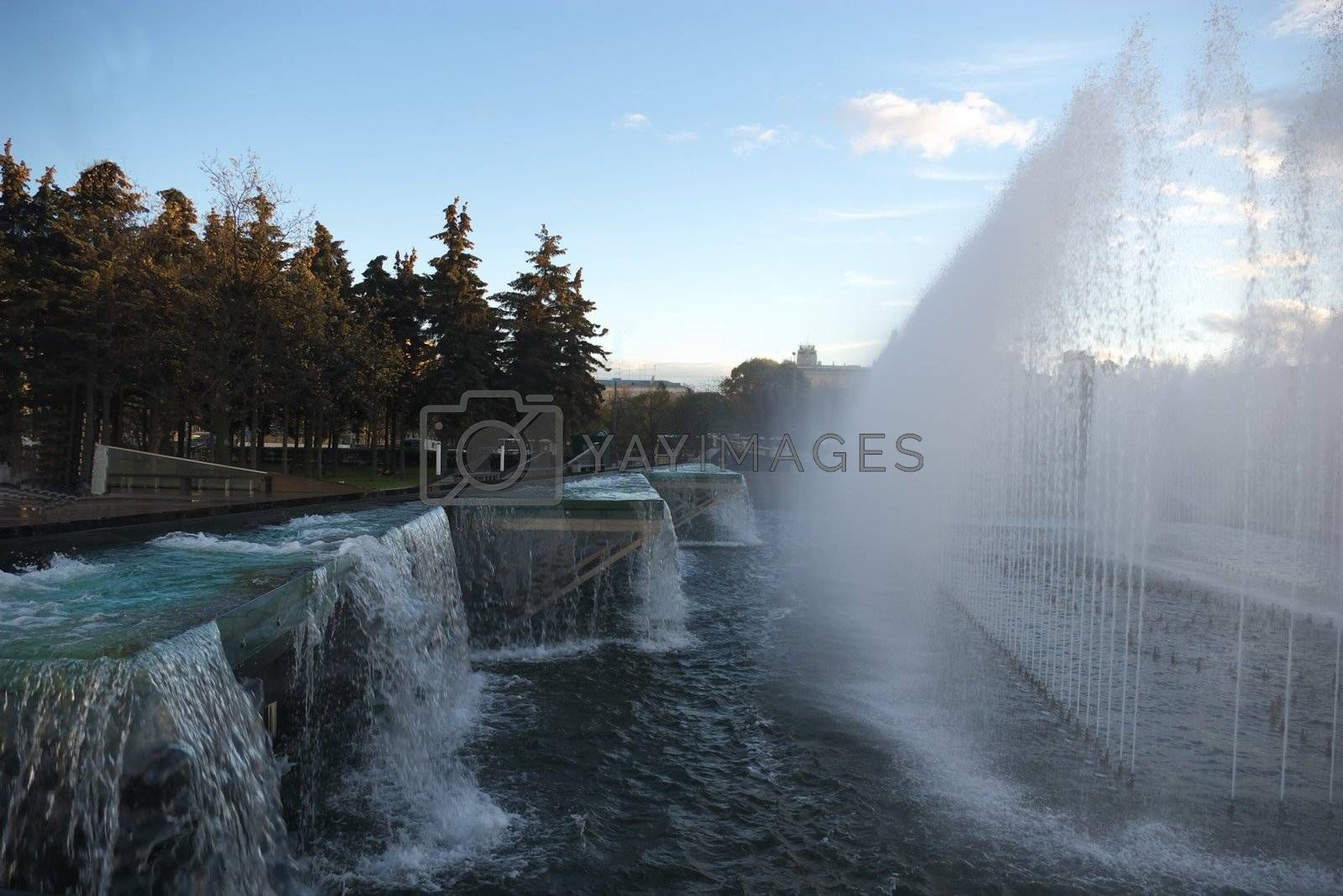 Royalty free image of Fountain by alshadsky