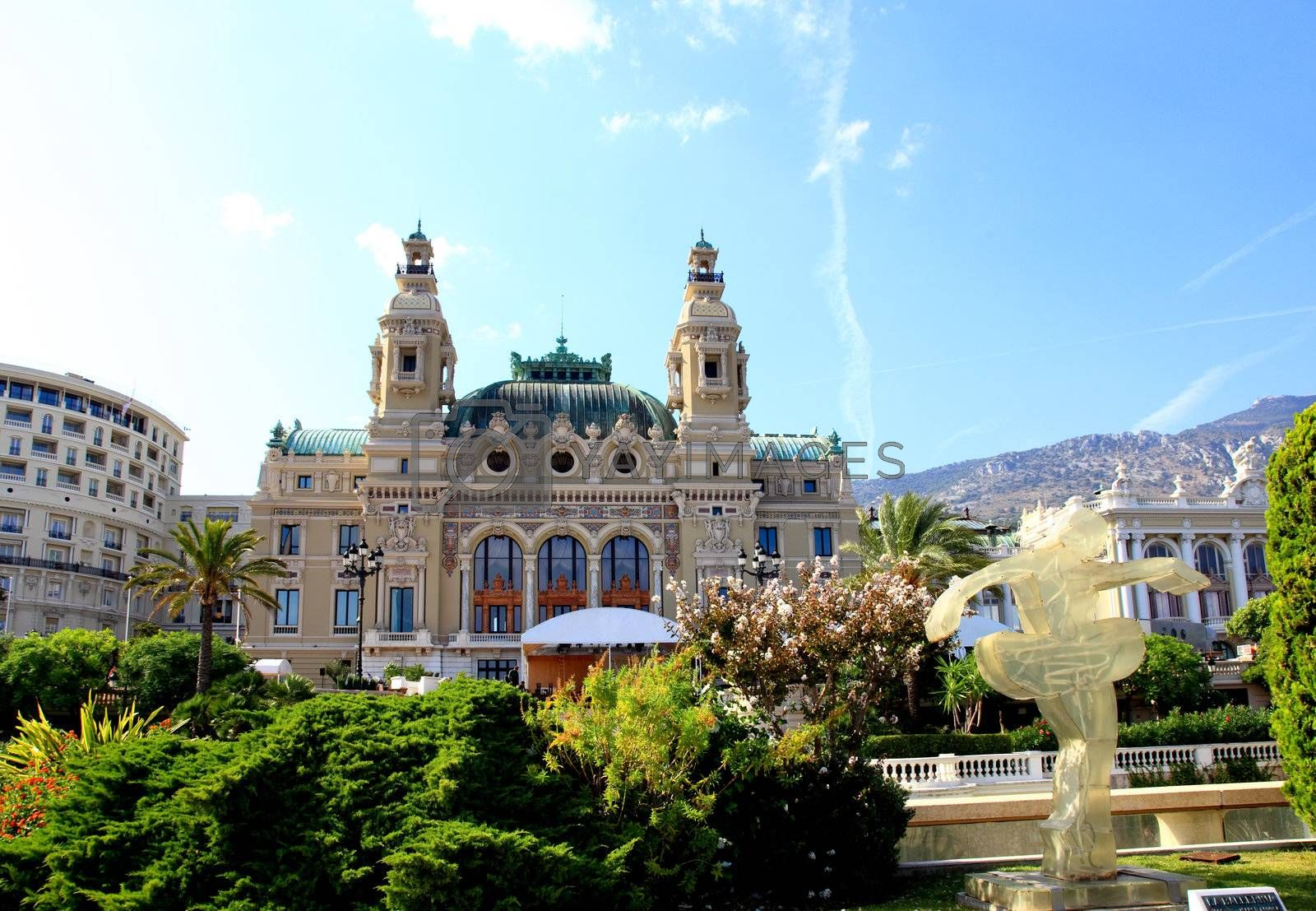 Royalty free image of The Grand Casino Monte Carlo by gary718