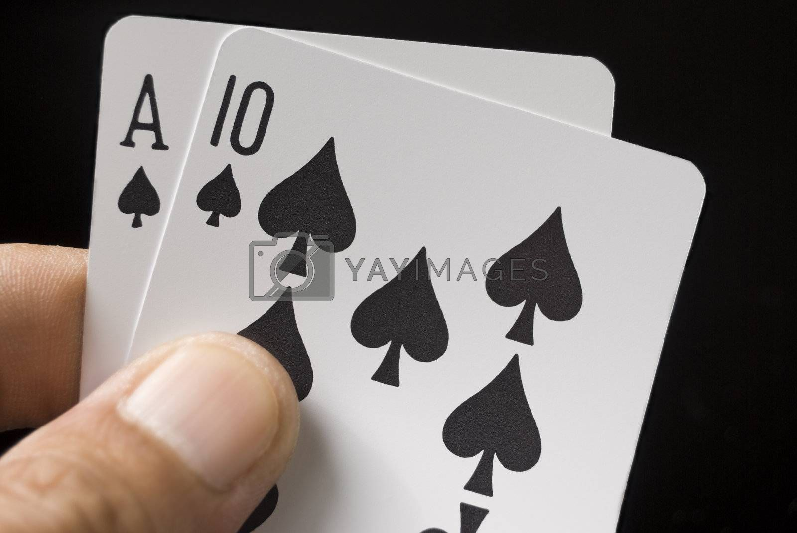 Royalty free image of Game Cards by tonyoquias