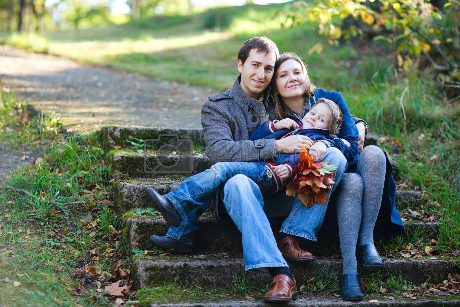 Autumn family by shalamov