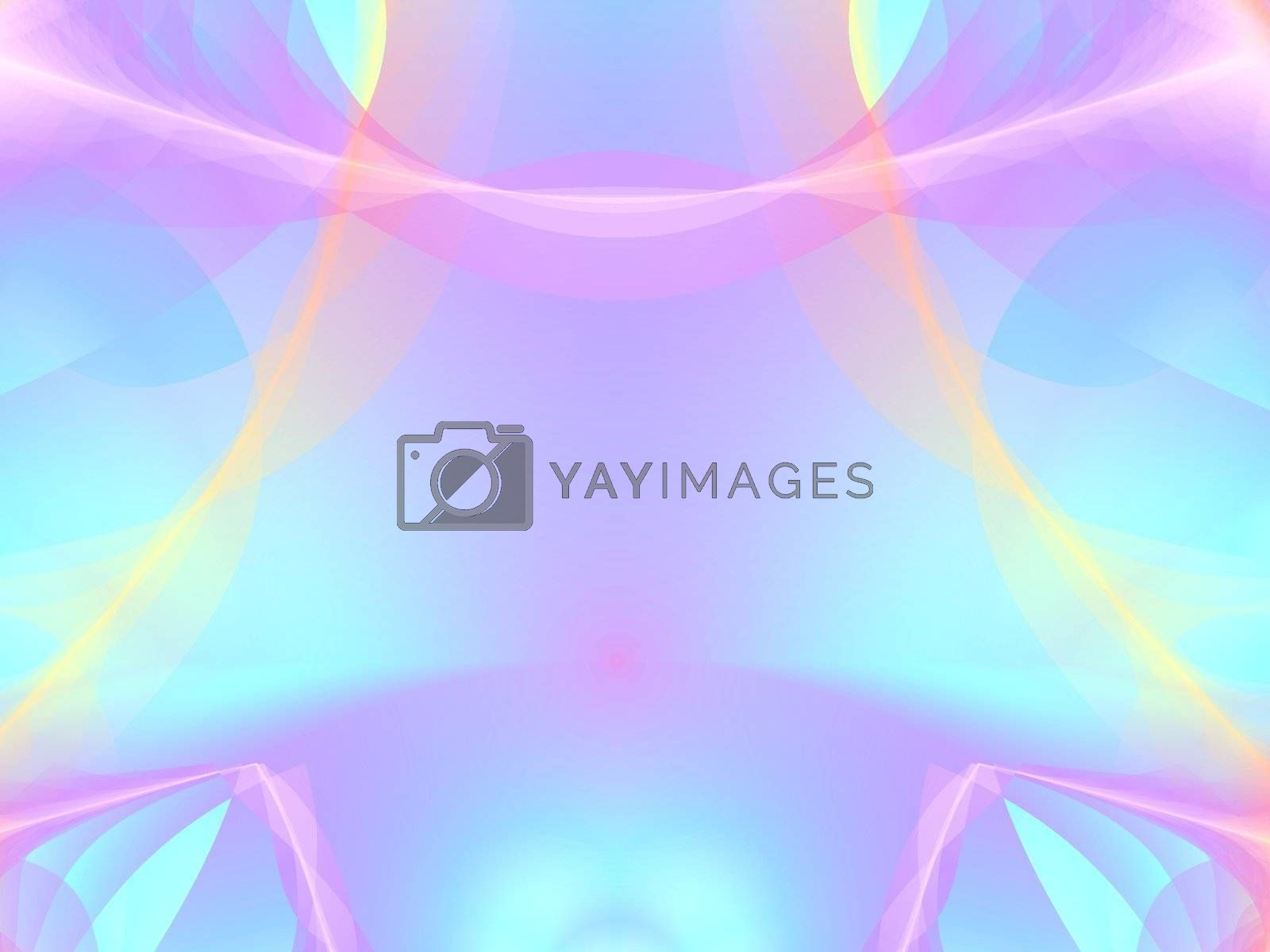 abstract soft pinkd and blue colored background