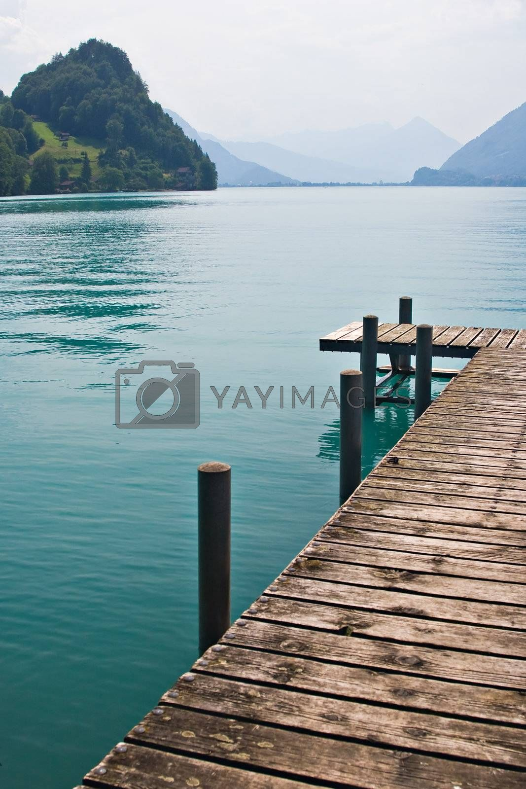 Royalty free image of Pier by the Lake by ajn