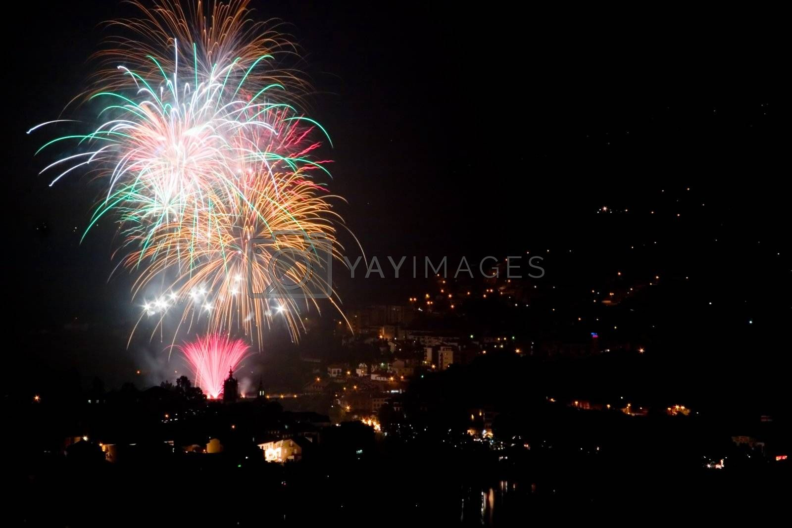 Royalty free image of Fireworks Display by ajn