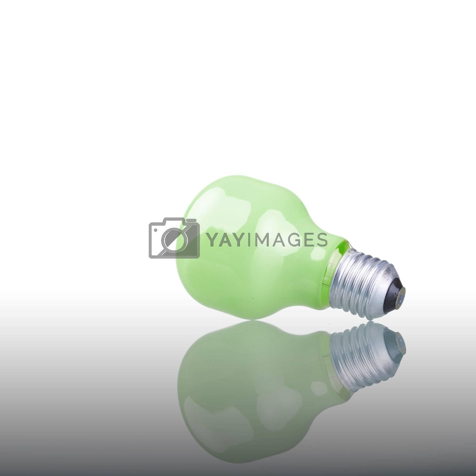 Green Bulb by ajn