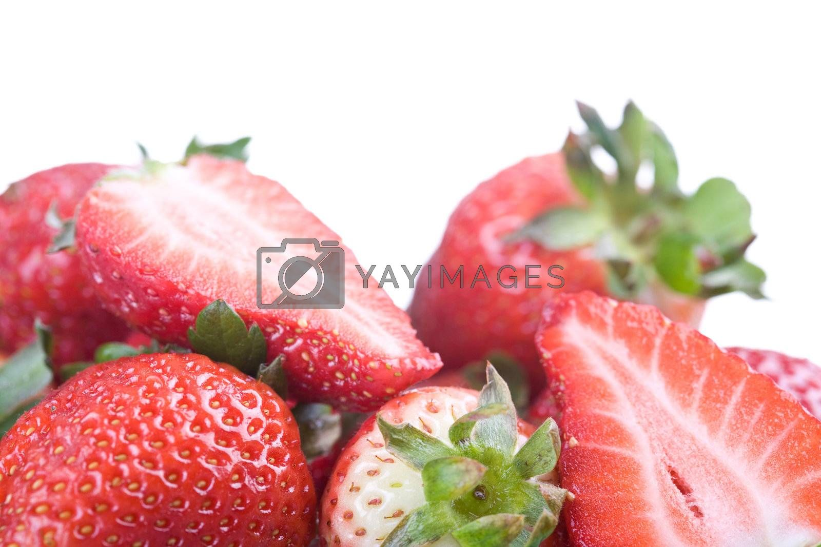 Royalty free image of Strawberries by ajn